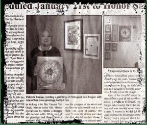 Hildegard & Me Newspaper
