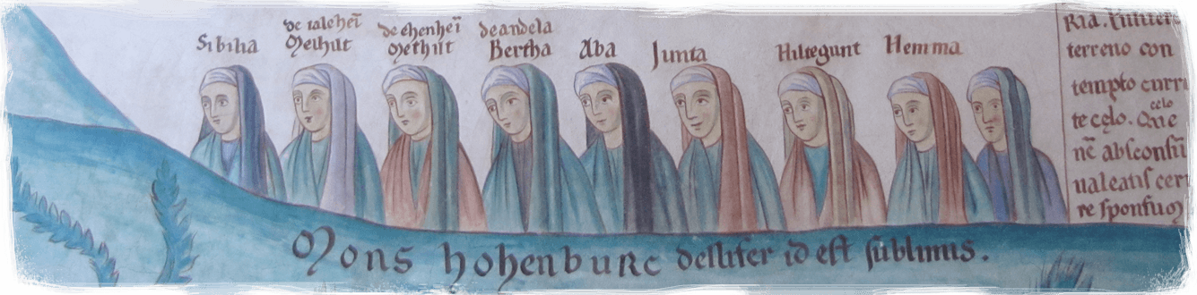 other abbesses than Hildegard